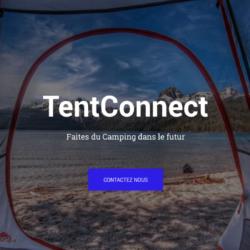 Tentconnect, la tente connectéé pour camping